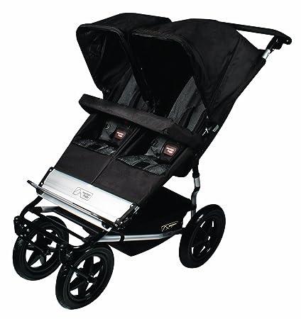 Mountain Buggy - Silla paseo de acero, poliéster, plástico, color negro