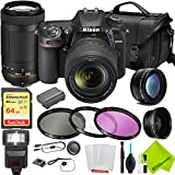 Nikon D7500 DSLR Camera with Nikon 18-140mm Lens and Nikon 70-300mm Lens 2 Lenses Kit