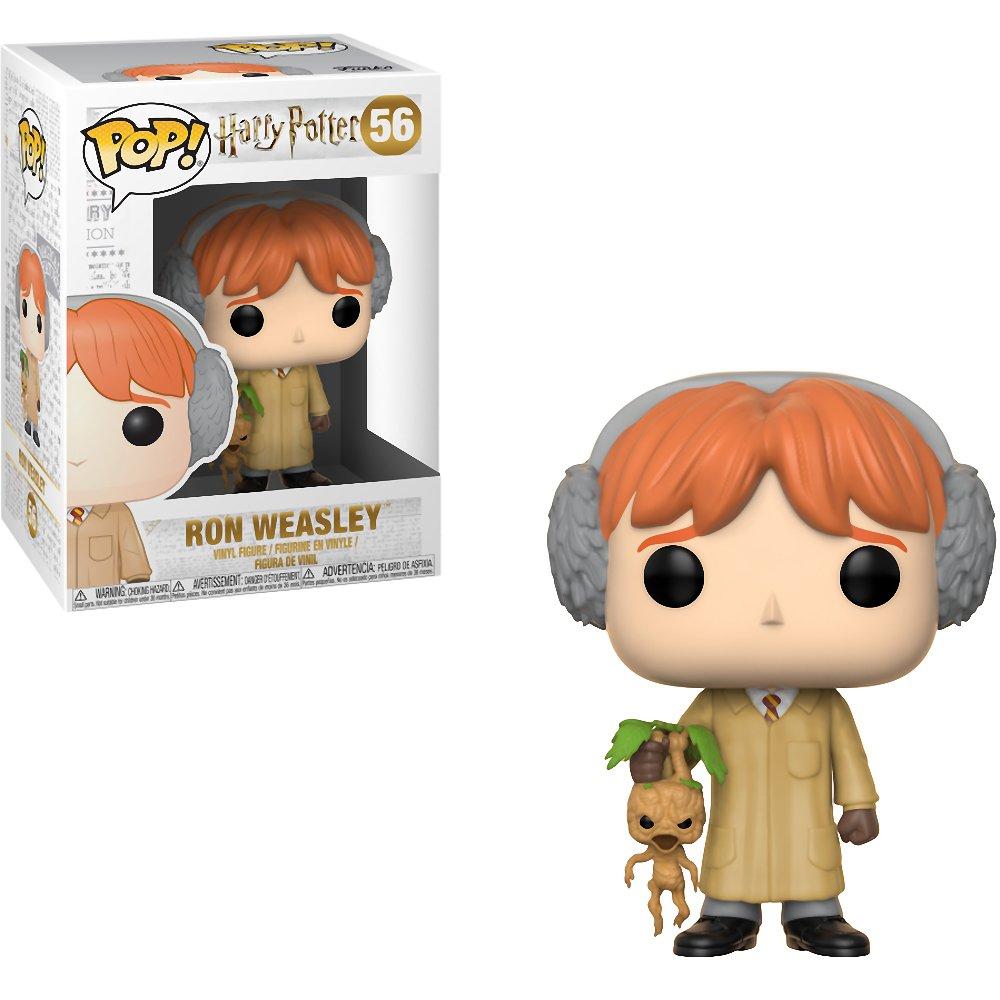 #056 // 29501 - B BCC9406W6 Funko Ron Weasley: Harry Potter x POP Vinyl Figure /& 1 PET Plastic Graphical Protector Bundle