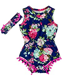 Baby Girls Cute Romper Bodysuit Clothes
