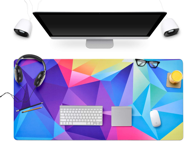 Mouse pad gigante 80 x 40 cm con base antideslizante (xmp)