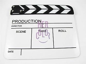 El director de película de acrílico en seco Erase pizarra ...