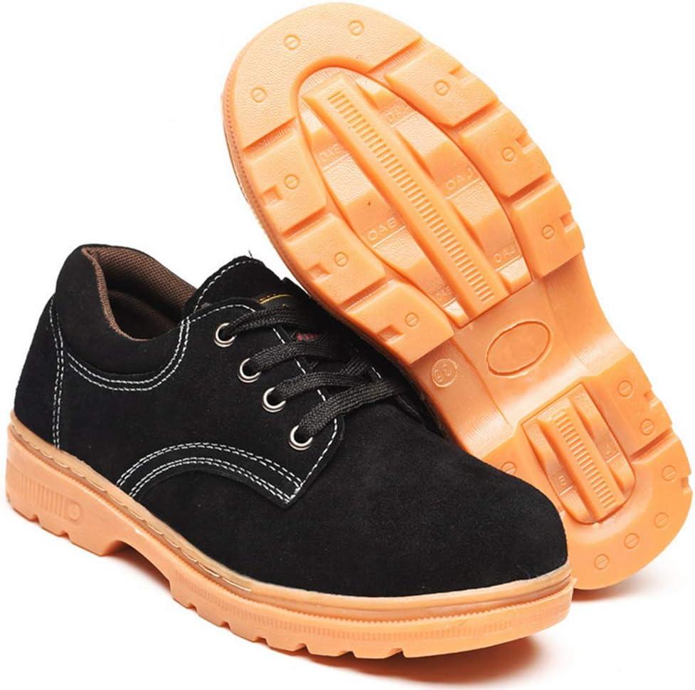 XIEZI Calzado Masculino,Calzado de Trabajo,Calzado de Seguridad,Cabeza de Acero,Impermeable,Impermeable,Impermeable y Ligero. 43