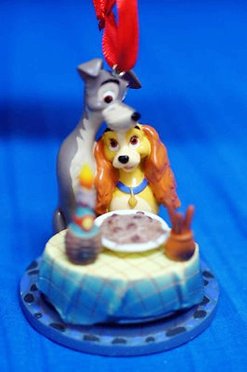 DISNEY SMALL  LADY AND THE TRAMP TREE DECORATIONS