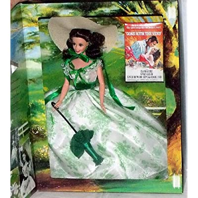 Barbie as Scarlett O'Hara Gone With The Wind at Wilke's Barbeque: Toys & Games