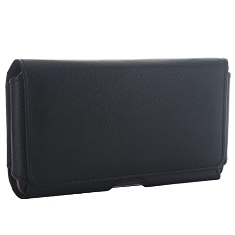 489266b2c6d Pochette ceinture horizontale pour téléphone portable avec clip en acier   Amazon.fr  High-tech