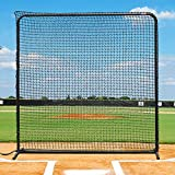 Fortress Baseball Protective Screen | 7ft x 7ft Baseball Backstop Training Screen | Practice Hitting Net [Net World Sports]