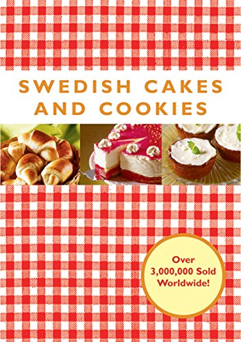 Swedish Cakes and Cookies Melody Dessert