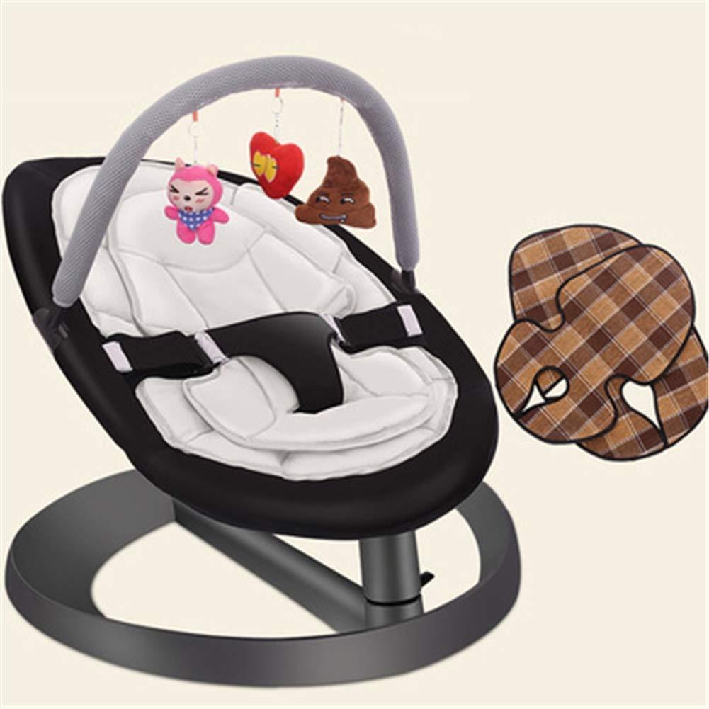 Infant Bouncers /& Rockers Toy Rack Mat Mat Multifunktionsautomatik Baby Schaukel Bouncer St/ühle Komfortable Falten Baby Rocker Schaukelstuhl Recliner Sleep Cradle