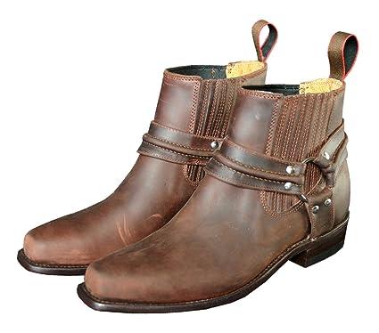 quality design a41c6 df13b STARS & STRIPES Westernstiefel WB-03 Cowboystiefel bzw. Cowboy Boots &  Bikerstiefel Westernstiefel für Damen und Herren Braun