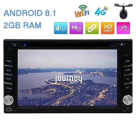 Actualizar Android 8.1 2G RAM de 6,2 pulgadas de pantalla táctil en el tablero de doble DIN coche ...
