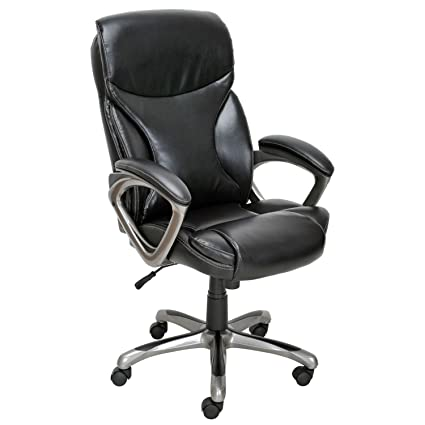 san francisco 1ab5f 21396 True Innovations - Bonded Leather Manager Chair - Black ...