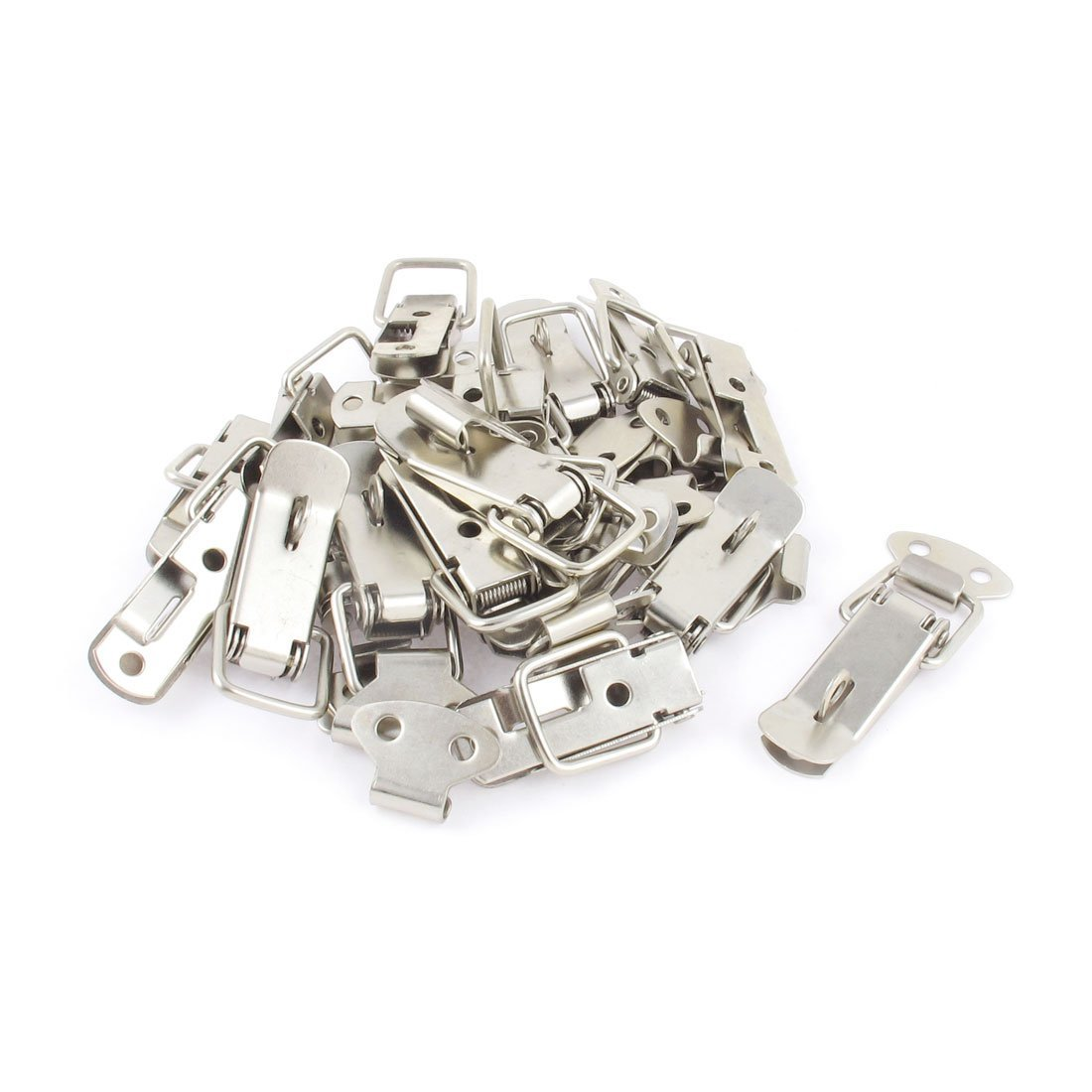 Uxcell Cabinet Spring Loaded Door Toggle Hasp Latch Catch Ltd 5.5cm Dragonmarts Co Set of 20 // Uxcell a15010700ux0334
