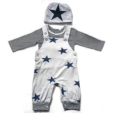 Amazon.com: Conjunto de pantalones para recién nacido con ...