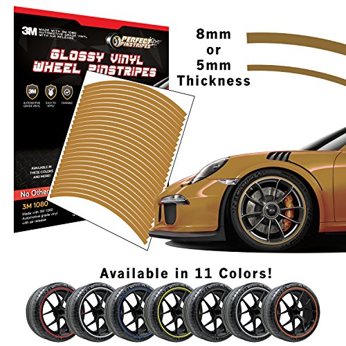 - Tire Ink Gloss Wheel Pinstriping | Pre-Cut 3M Vinyl | Curved for A (17