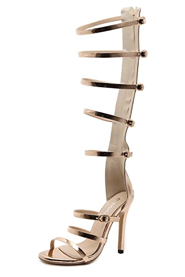 ZHZNVX Stilvolle Ausgesetzt Schuhe Sexy und Stilvoll Elegante Hohe Hilfe Coole Stiefel Ausgesetzt High-Heel Schuhe...