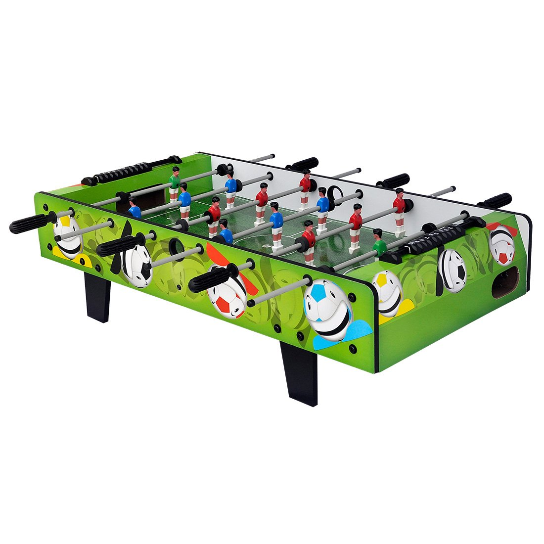 HLC Mesa de toys-3 pies fútbol futbolín kick-off-grass niños verde ...