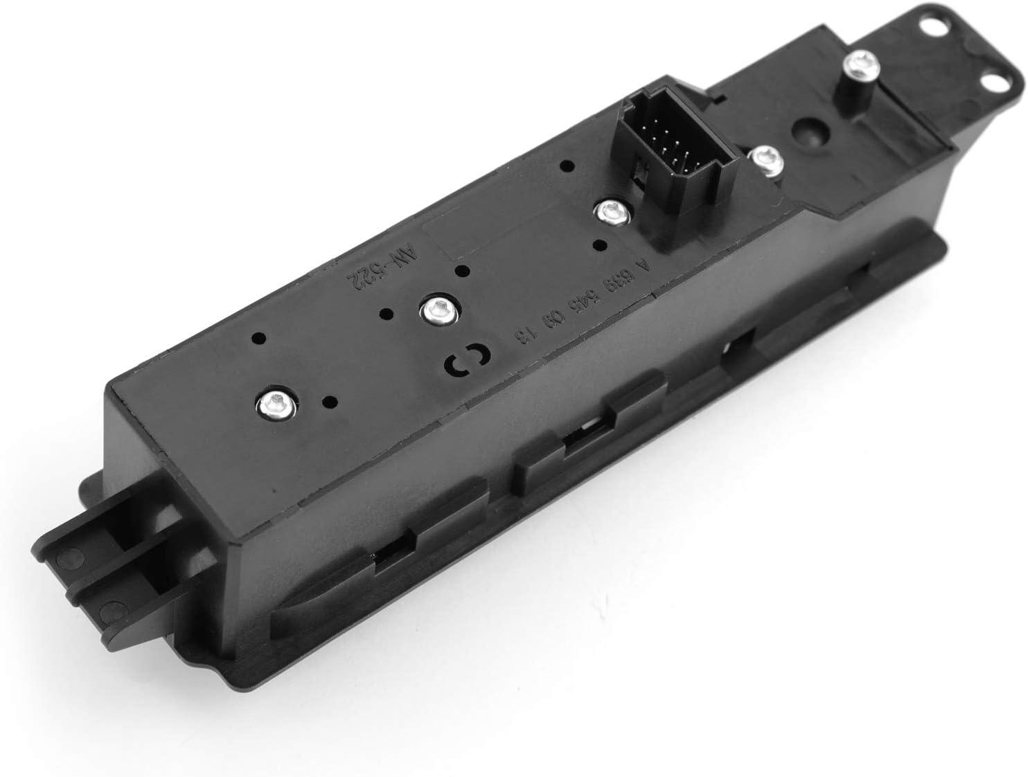 Artudatech Car Window Control Switch Electric Driver Side Master Power Window Control Switch for Merce-des Ben-z Viano Vito W639