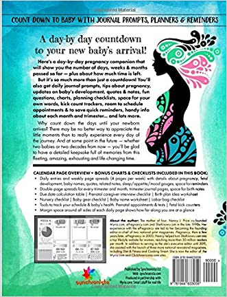 Lovely The All In One Pregnancy Calendar Daily Countdown Planner