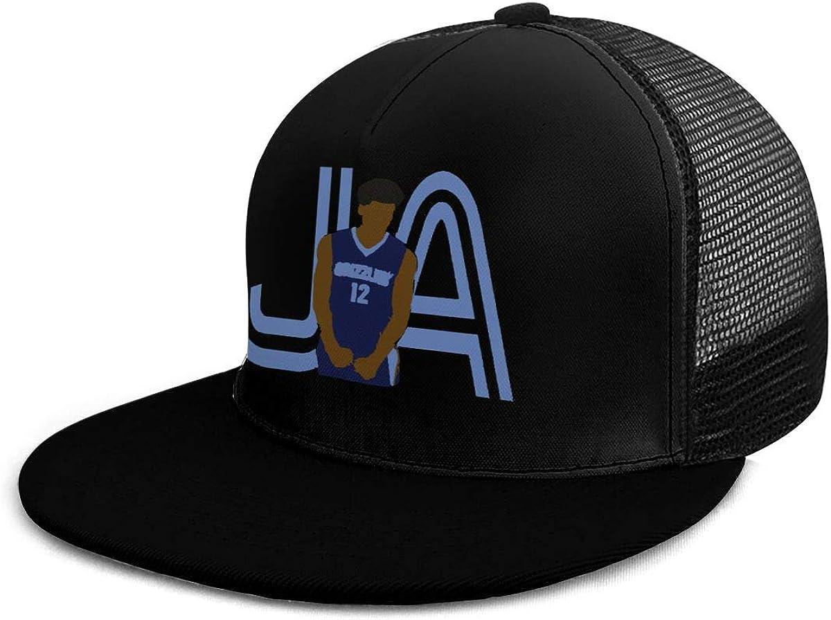 AlexaLeo Casual Plain Memphis Morant Screaming Dad Hats Unisex Adjustable Baseball Cap Black