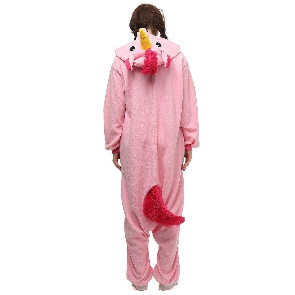 Kenmont Unisex Unicornio Pijamas para Adultos Disfraz Cosplay Animales Ropa de dormir Halloween Navidad Carnaval: Amazon.es: Ropa y accesorios