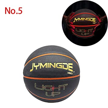 Dedeka Baloncesto Luminoso No.5/7 con Dos Luces LED de Alto Brillo ...