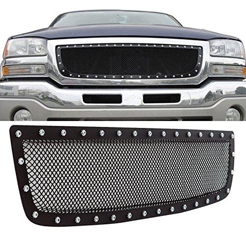 03 sierra chrome mesh grill - 4