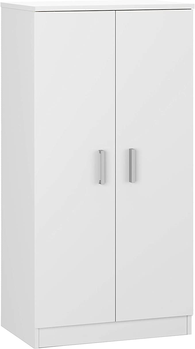 Habitdesign 007813O - Zapatero Armario Basic, Mueble Auxiliar acabado en Blanco Brillo, Medidas: 108 cm (alto) x 55 cm (largo) x 36 cm (fondo): Amazon.es: Hogar