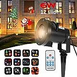 Christmas Lights Projector,Merkmak Snowflake Projector Waterproof Outdoor Indoor - Best Reviews Guide
