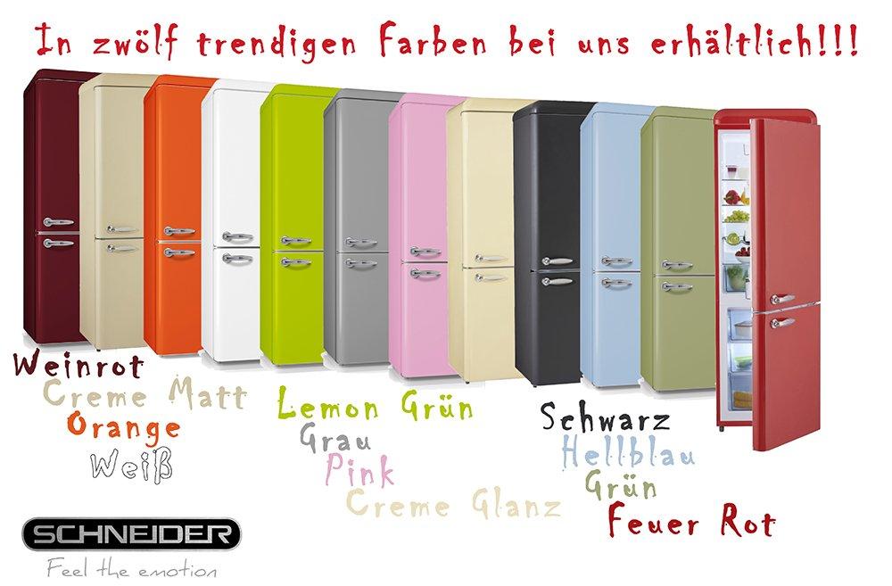 gr/ün Schneider SL 250LG K/ühl-//Gefrierkombination