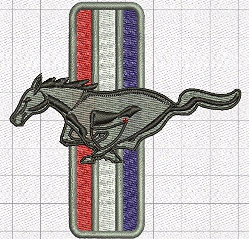 100/% cottone qualit/à Veramente a Premio Ford Mustang Poloshirt Divertente Ricamato 048