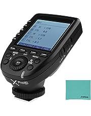 Godox Xpro C E-TTLII - Transmisor de Flash inalámbrico de 2,4 G con Sistema X de 32 Canales, 16 Grupos, soporta TTLAutoflash 1/8000s HSS para cámaras Canon EOS Series para cámaras Godox Series