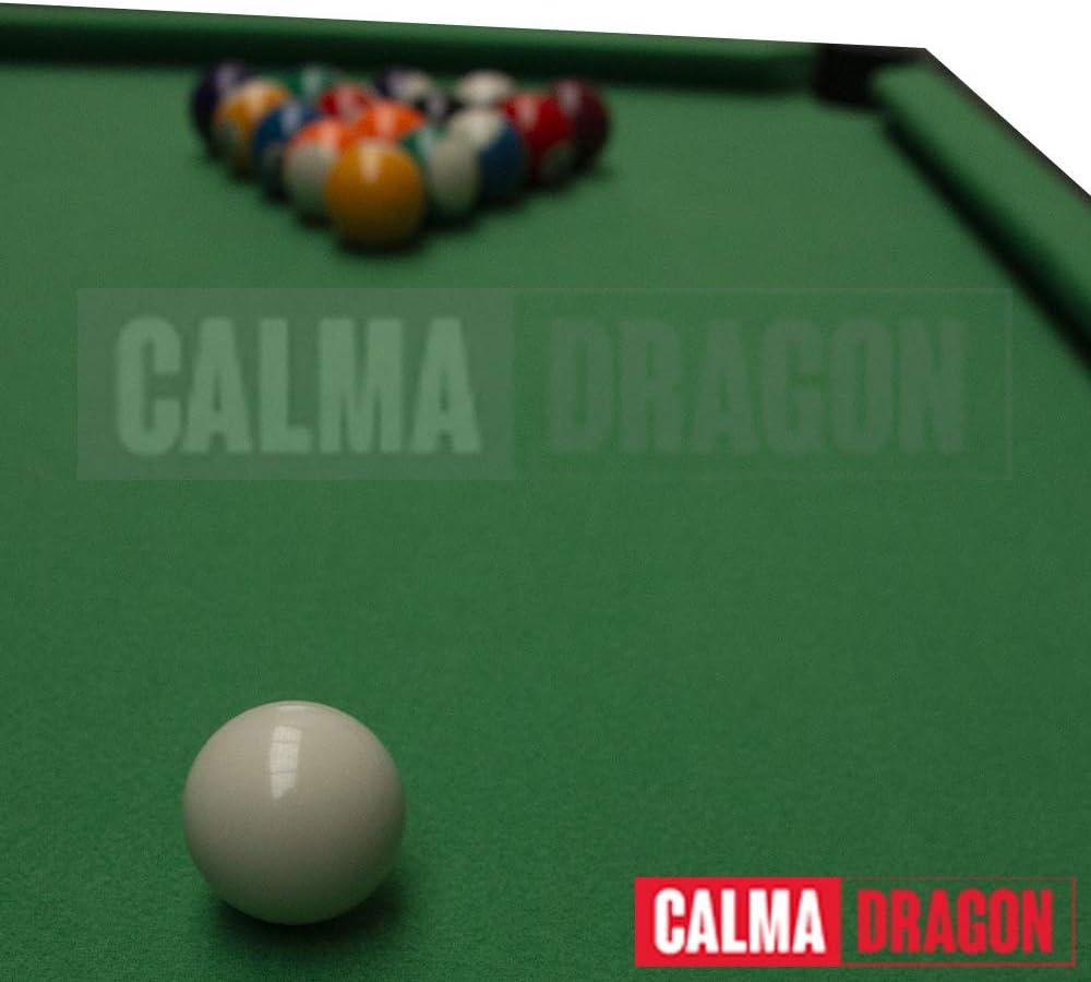 Calma Dragon Mini Mesa de Billar, Juego de Mesa con Bolas, Tacos ...