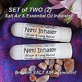 Urban ReLeaf NETI Salt Air Relief INHALERS! Set