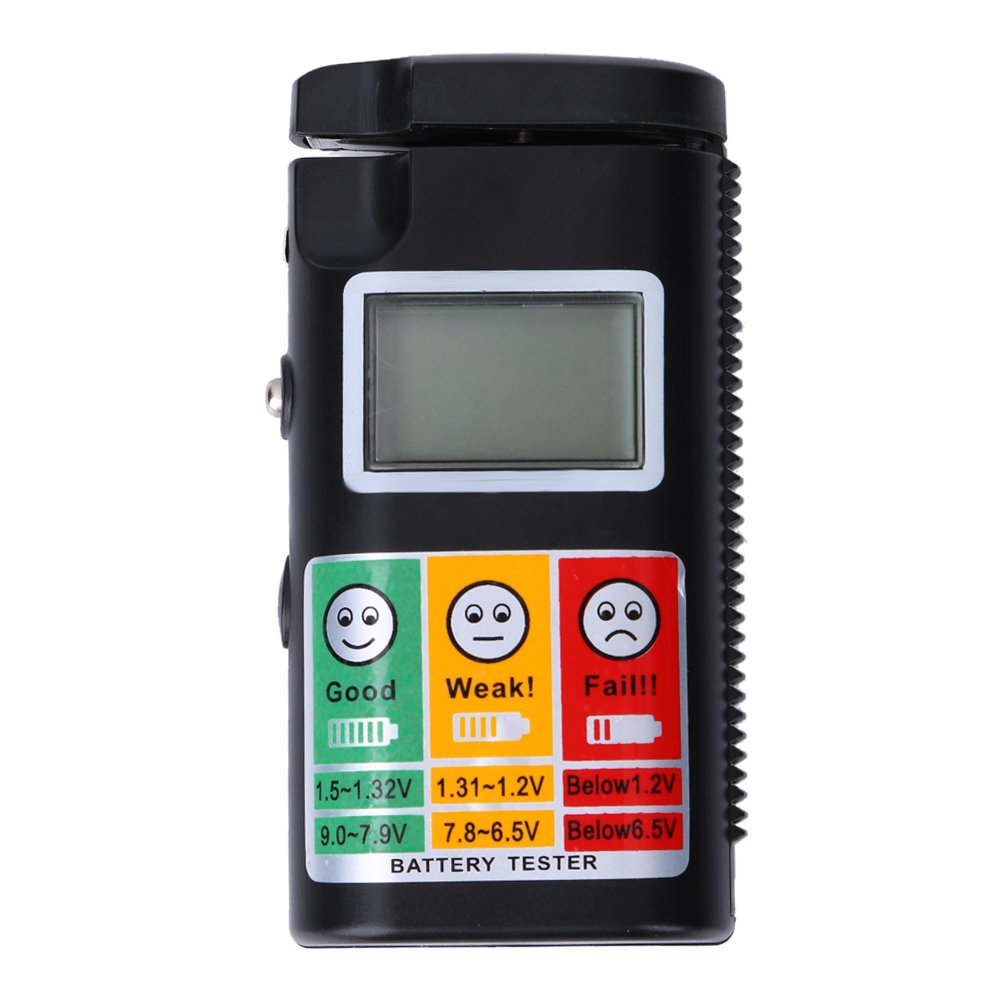 2 Battery Tester : Low cost battery tester ueb digital v