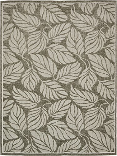 A2Z Rug Indoor/Outdoor Rug Olive 9' x 12' -Feet Transitional Collection Area Rugs - Perfect for Outdoor Carpet