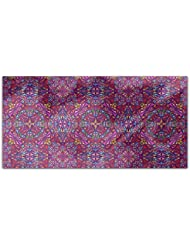 The Kaleidoscope Of Colors Rectangle Tablecloth Large Dining Room Kitchen Woven Polyester Custom Print