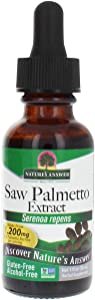 Nature's Answer Alcohol-Free Saw Palmetto Berry Extract, 1-Fluid Ounce