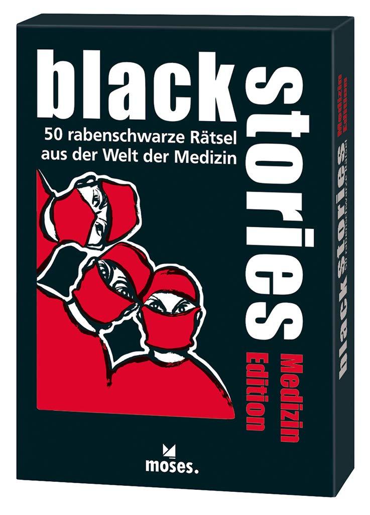 black stories - Medizin Edition: 50 rabenschwarze Rätsel aus der Welt der Medizin: Amazon.es: Berger, Nicola, Skopnik, Bernhard: Libros en idiomas extranjeros