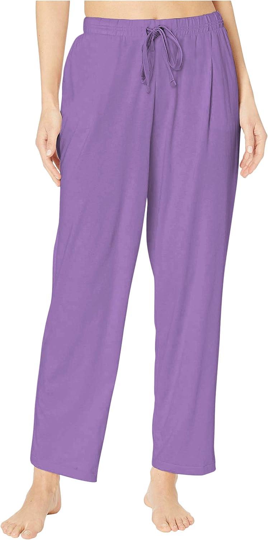 DYLH Pantalon de Nuit pour Femme Bas de Pyjama avec Taille /Élastique Cordon de Serrage Loose Fit