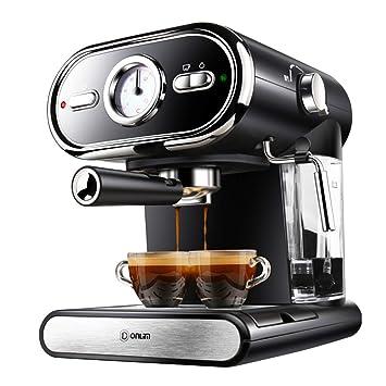 SryWj Máquina De Café Comercial Semiautomática De Visualización En Casa 20BAR Máquina De Café con Control De Temperatura Completo Cafeteras de Espresso ...