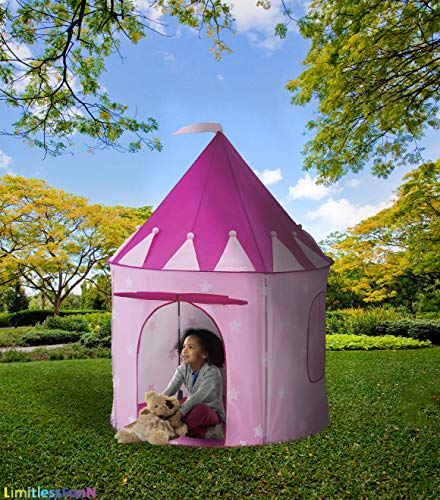de24b6951bee Kids Play Tent with Light Princess Castle Children Playhouse Bonus Carrying  Case   Pop Up Portable