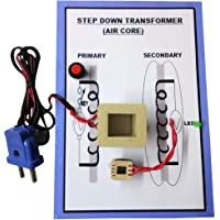 Melody's Step Down Transformer (Air Core) Physics Science Working Model