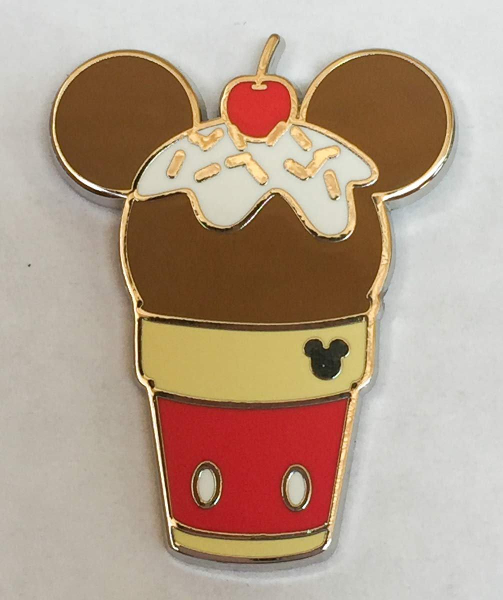Disney Pin DLR 2018 Hidden Mickey - Mickey Mouse - Ice Cream Disney Pin