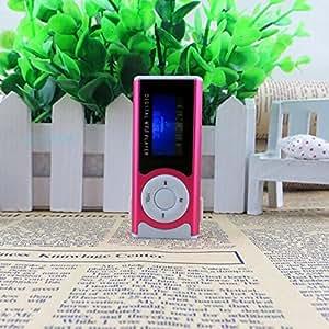 ARBUYSHOP esencial brillante mini clip USB Pantalla LCD MP3 Medios de atención al jugador de 16 GB Micro SD de envío gratuito Dec04