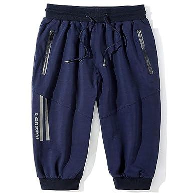Pantalón De Chándal Corto para Cortos Hombre Bermudas De Chándal ...
