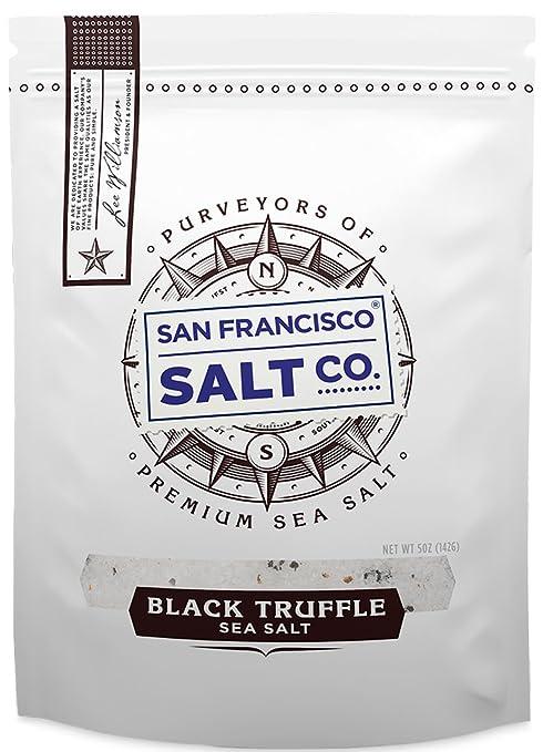 5 oz. Resealable Pouch - Italian Black Truffle Salt by San Francisco Salt Company