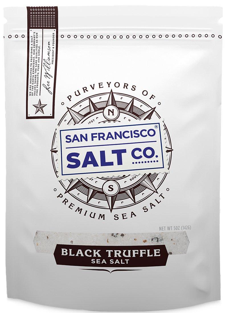 5 oz. Resealable Pouch - Authentic Italian Black Truffle Salt