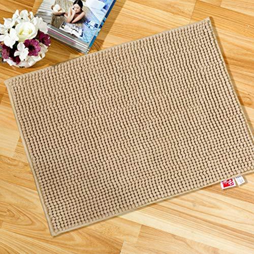 (Anti-Skid Rug, Bay Window Cushion, Bath Rugs, Soft Fluffy Water Absorption Machine Washable Decoration Home Floor Carpet Bedroom-D 50x80cm(20x31inch) )