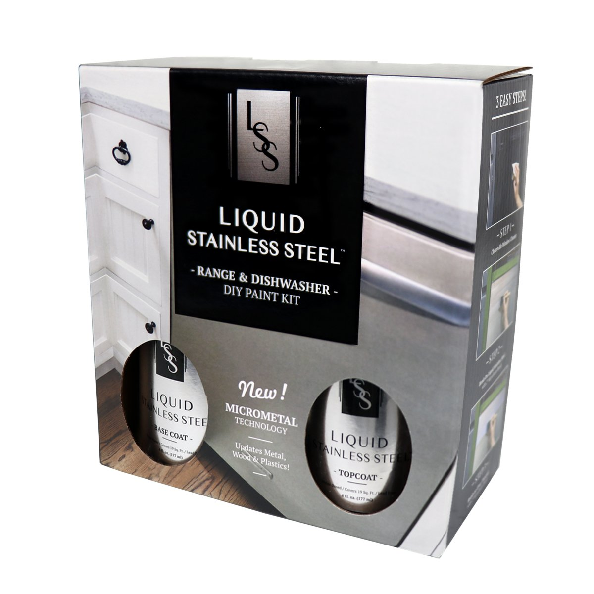Liquid Stainless Steel Range and Dishwasher Kit